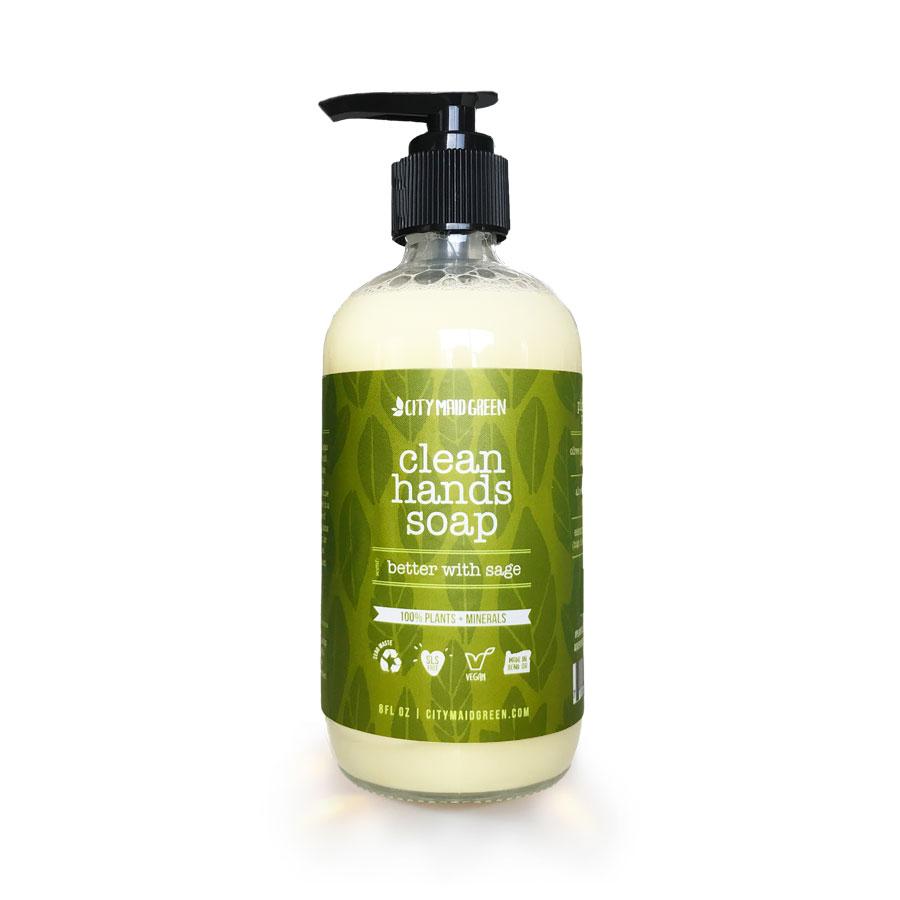 Hand-Soap-Sage-City-Maid-Green