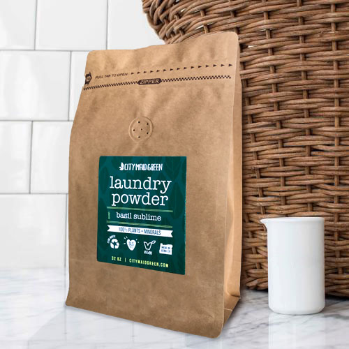 Laundry-Powder-with-basket-City-Maid-Green