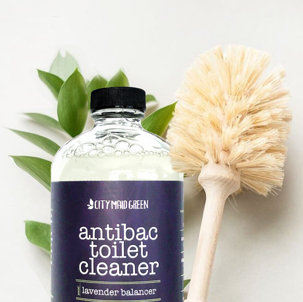 antibac toilet cleaner City Maid Green
