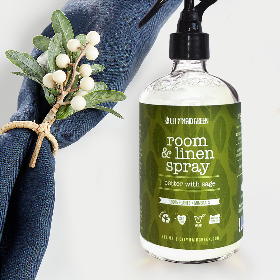 room spray with linen